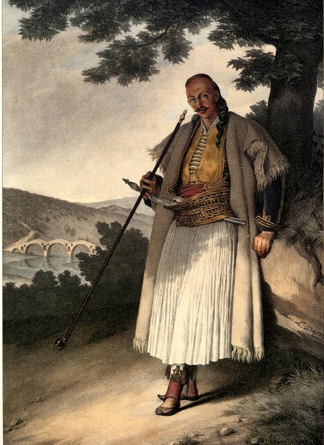 Louis Dupré.  Έλληνας ένοπλος στα Γιάννενα