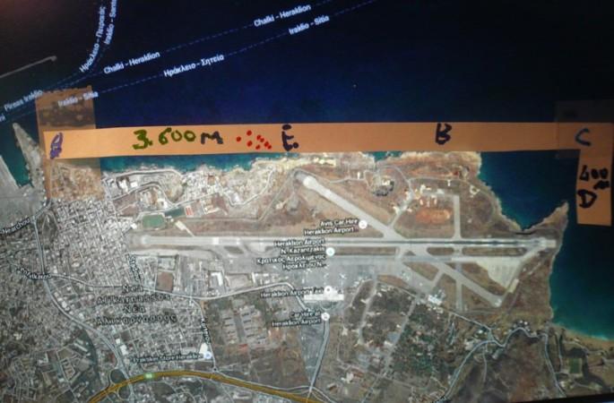 Το αεροδρόμιο Νίκου Καζαντζάκη με επέκταση στη Θάλασσα