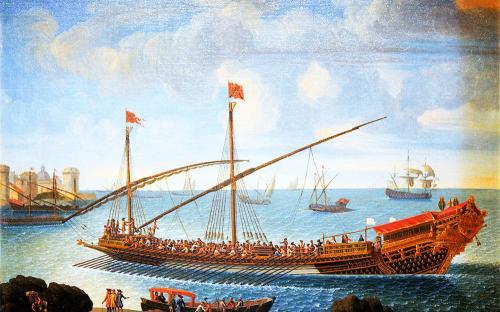 Κάτεργο: το ιστιοφόρο κωπήλατο πλοίο κατά τη Βυζαντινή εποχή