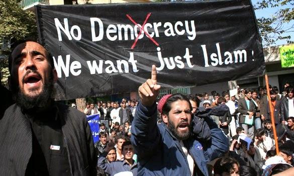 No-democracy-just-islam