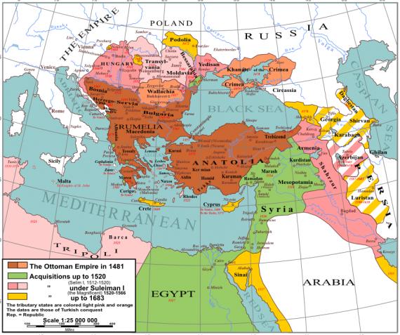 Η Οθωμανική Αυτοκρατορία (τουρκ. Osmanlı İmparatorluğu) ήταν ένα αχανές κράτος που ιδρύθηκε τον ύστερο 13ο αιώνα από τουρκικά φύλα στη Μικρά Ασία και κυβερνήθηκε από τους απογόνους του Οσμάν Α' μέχρι την κατάλυσή της το 1918.